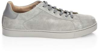 Gianvito Rossi Suede Low-Top Sneakers