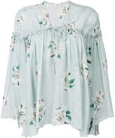 Dondup floral print fluid blouse