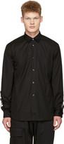 Comme des Garcons Black Adjustable Sleeves Shirt