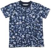 Molo Camo Animals Print Cotton Jersey T-Shirt