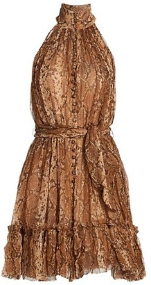 Zimmermann Wild Botanica Smock Dress
