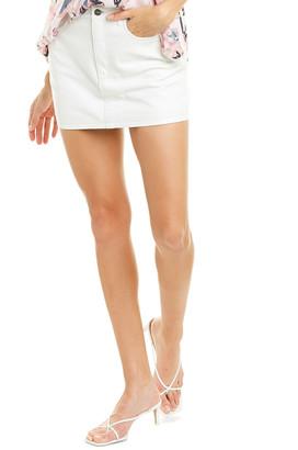 IRO Uka Leather Mini Skirt