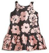 Milly Minis Toddler's & Little Girl's Floral Print Drop-Waist Dress