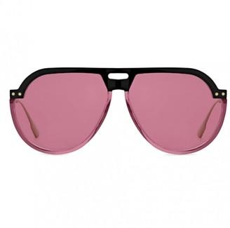 Christian Dior club 3 Pink Metal Sunglasses