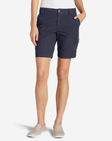 Eddie Bauer Women's Adventurer® Stretch Ripstop Cargo Shorts - Slightly Curvy