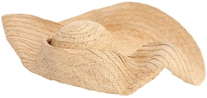Ruslan Baginskiy Oversize Straw Hat