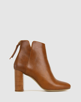 betts Women's Heeled Boots - Bubble Heeled Ankle Boots - Size One Size, 5 at The Iconic