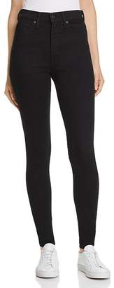 Levi's Mile High Super Skinny Jeans in Black Galaxy