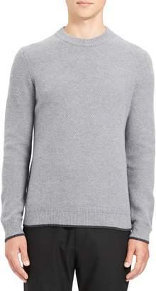 Theory Winlo Slim Fit Crewneck Wool & Cashmere Sweater