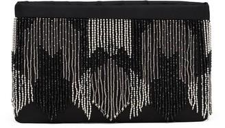 Prada Beaded-Fringe Clutch Bag