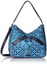 Vera Bradley Vivian Hobo Bag Cotton 1
