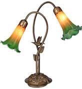 Dale Tiffany Humming Bird Lily Desk Lamp