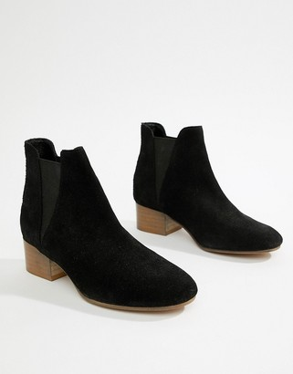 Asos DESIGN Resist suede ankle boots