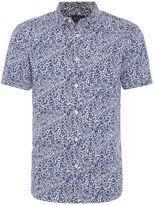 Howick Plantation Print Short Sleeve Shirt