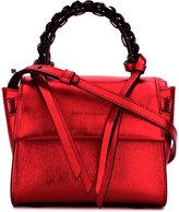 Elena Ghisellini chain detail shoulder bag - women - Calf Leather - One Size