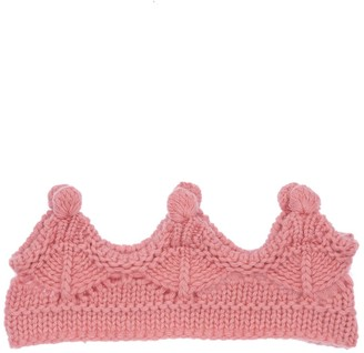 Il Gufo Wool Knit Crown Headband