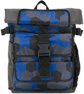 Emporio Armani large backpack - men - Polyester/Nylon - One Size