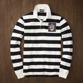 Rugby Varsity Striped Polo
