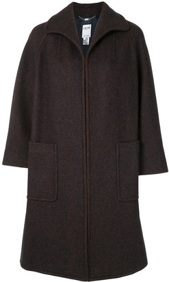 Céline Pre Owned concealed fastening A-line coat