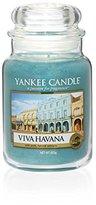 Yankee Candle Viva Havana Jar Candle, Green, Large