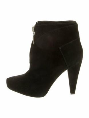 Proenza Schouler Suede Boots Black