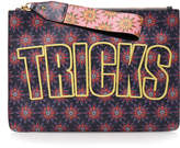 House of Holland Bags of Tricks Leather Clutch Bag
