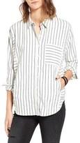 BP Women's Stripe Flannel Shirt