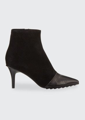 Rag & Bone Beha Moto Mixed Booties