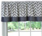 Baby Doll Bedding Baby Doll Minky Chevron Window Valance