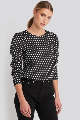 Rut & Circle Rut&Circle Sandra Puff Blouse Black