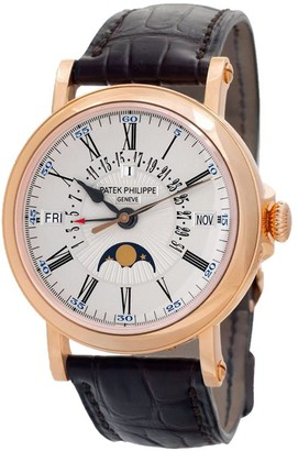 Patek Philippe 2018 pre-owned Grand Complications 38mm
