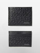Calvin Klein Embossed Wallet Gift Box Set