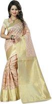Swara Elegant Women Indian Banarasi Silk Saree Indian Ethnic Fashion Sari Wedding Wear