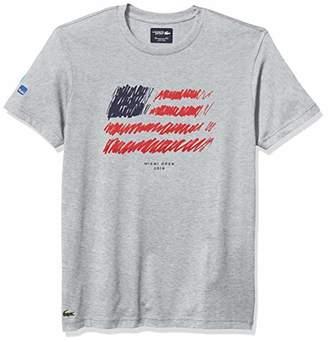 Lacoste Men's Sport Miami Open Edition Americana T-Shirt