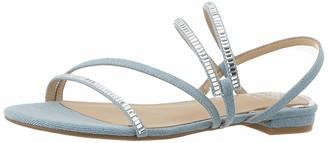 GUESS Women's Ravena3/sandalo (Sandal)/Fabri Flat