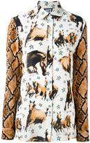 Fausto Puglisi horse print shirt - women - Silk - 42