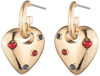 Dannijo Jaques Heart Earrings