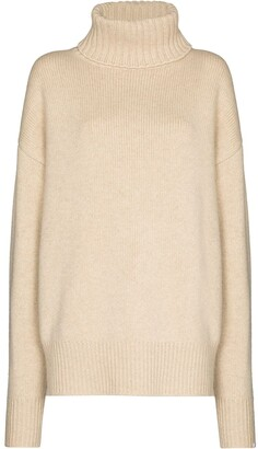 Extreme Cashmere Roll-Neck Cashmere Sweater