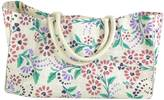 Lulu and Nat Purple Floral Bag