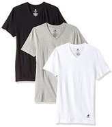 Beverly Hills Polo Club Men's 3 Pack V Neck Tee