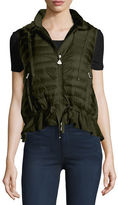 Moncler MAGLIA GILET, HOODED DOWN AN