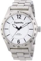Superdry Men's 49mm Steel Bracelet & Case Quartz Dial Watch Syg107wm
