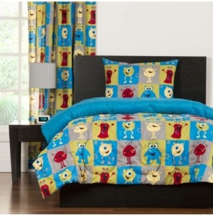 Crayola Monster Friends 5 Piece Twin Duvet Set Bedding