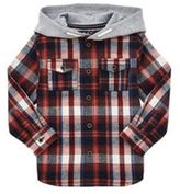F&F Hooded Checked Shirt, Boy's