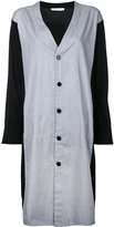 ASTRAET v-neck shirt dress - women - Cotton - One Size