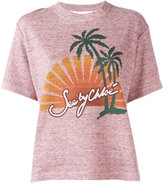 See by Chloe sunset print T-shirt - women - Cotton - M