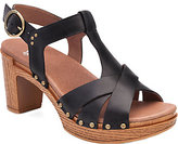 Dansko Leather Platform Sandals - Daniela
