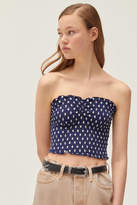 Urban Outfitters UO Cami Smocked Fitted Tube Top
