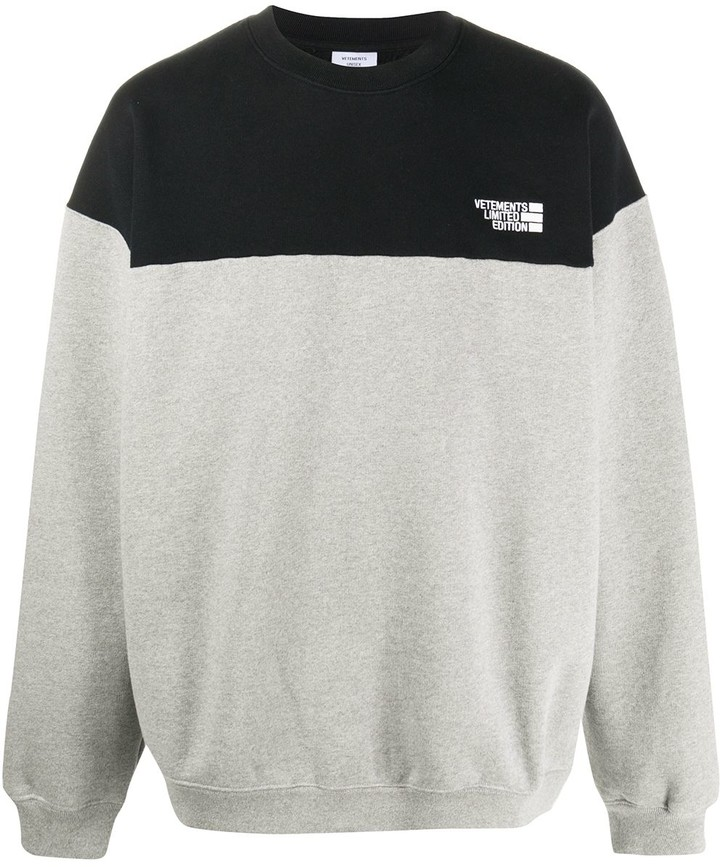 Vetements Chest Logo Sweatshirt
