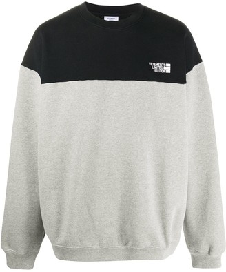 Vetements Chest Logo Sweatshirt